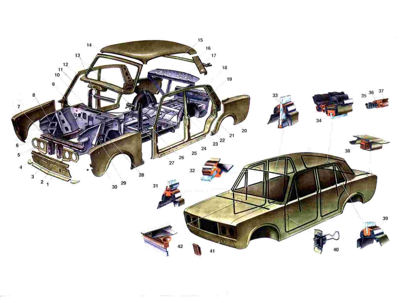 Детали для автомобилей своими руками 550