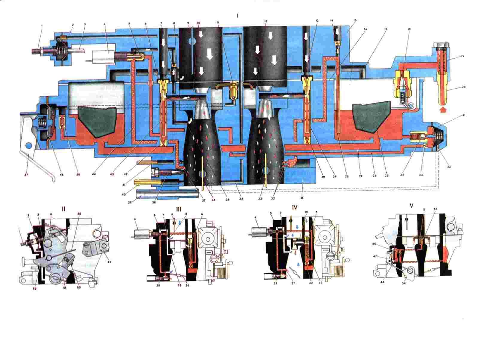 Клапан холостого хода ваз 2107 карбюратор схема